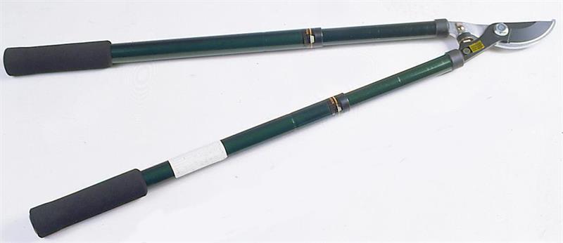 Raivaussakset, alasinmalli, pituus 60/95 cm,vihreä,irto