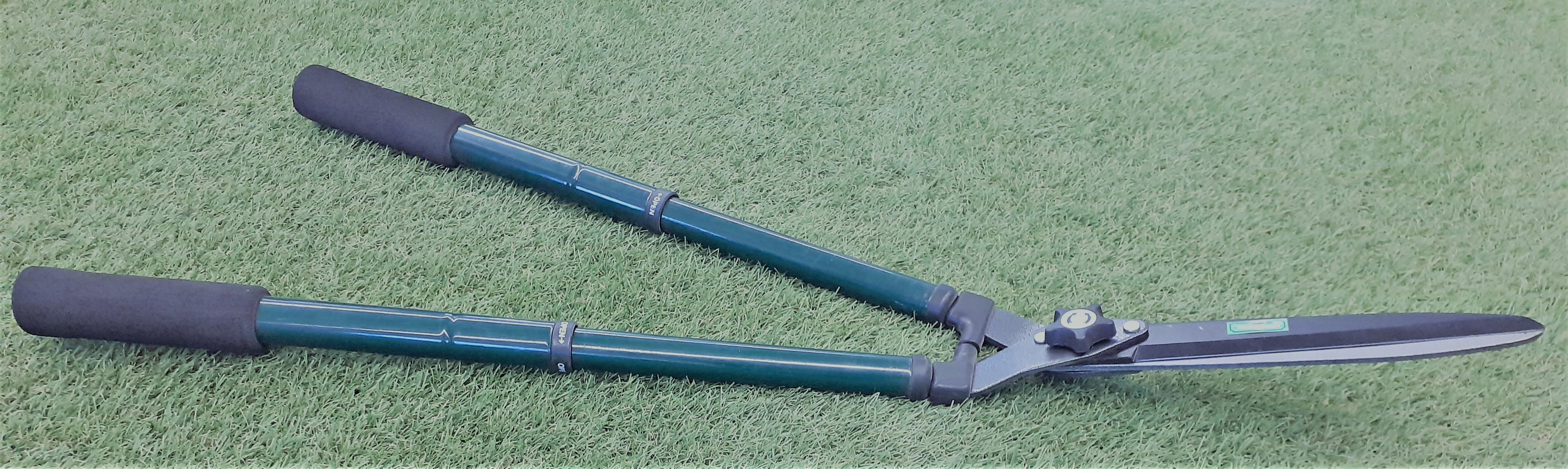Pensassakset, suora terä, pituus 66/83 cm,vihreä,irto