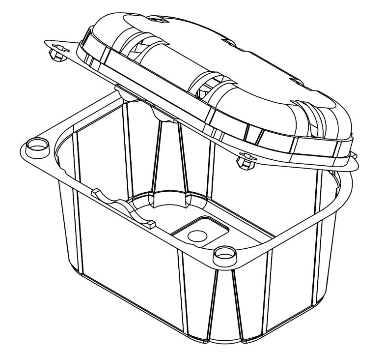 Infia saranakansirasia KIT 250  R-PET  250g1200kpl/laat