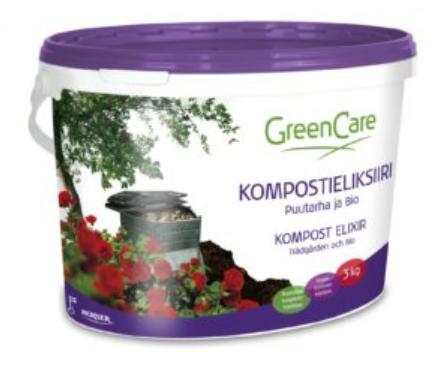Kompostieliksiiri Puutarha ja Bio 3 kg
