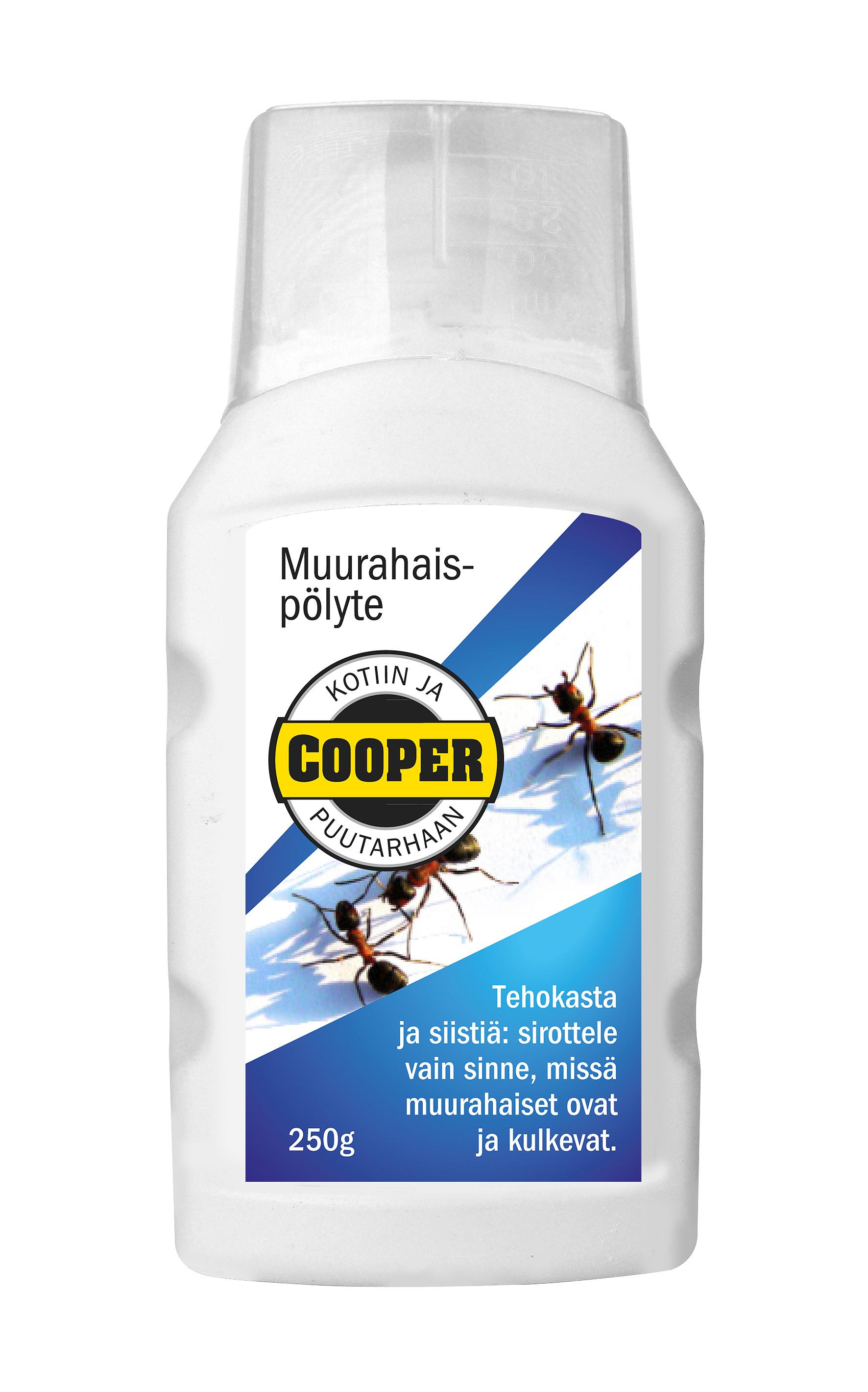 Cooper muurahaispölyte 200 g