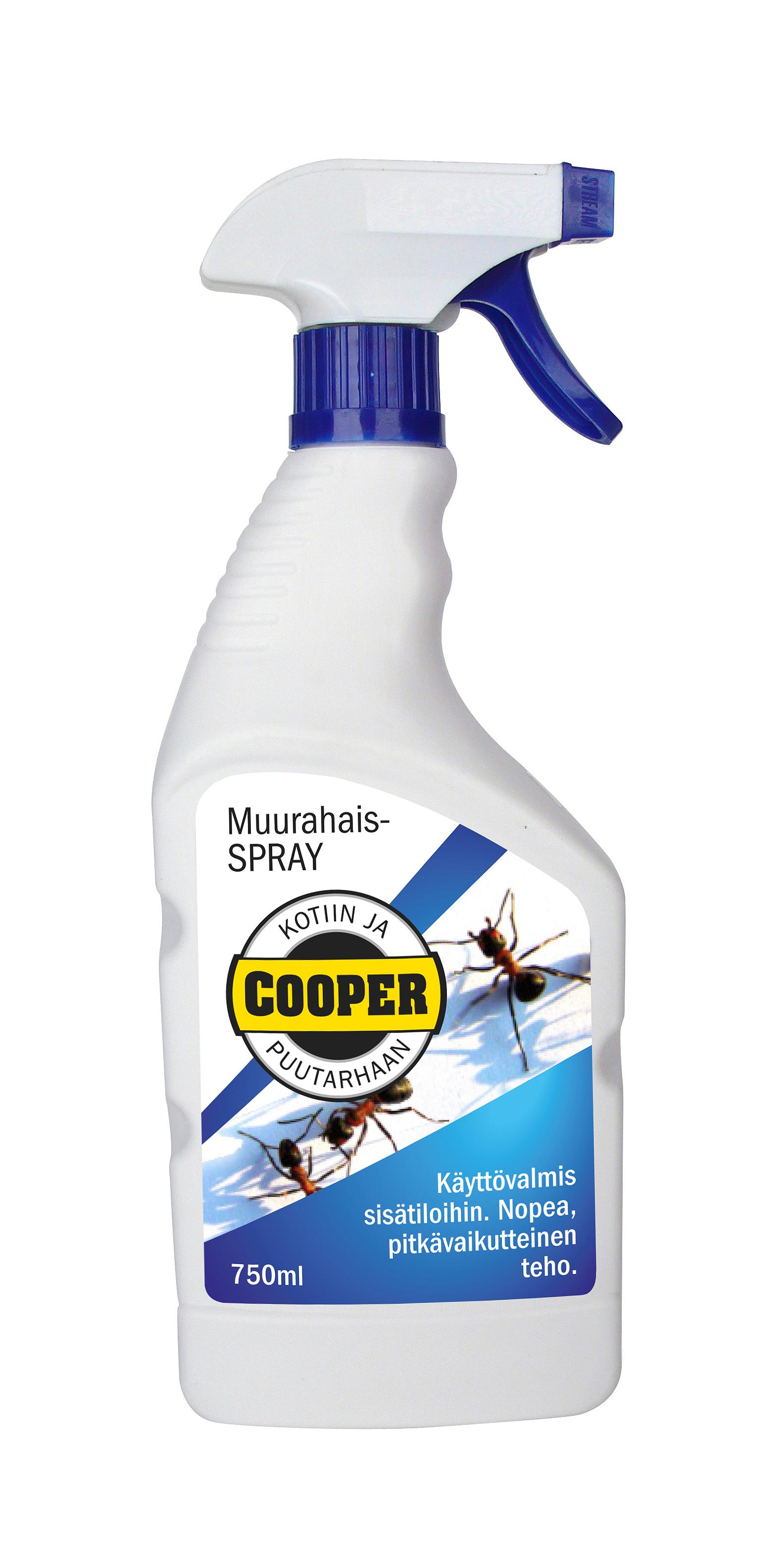Cooper -muurahaisspray 750 ml