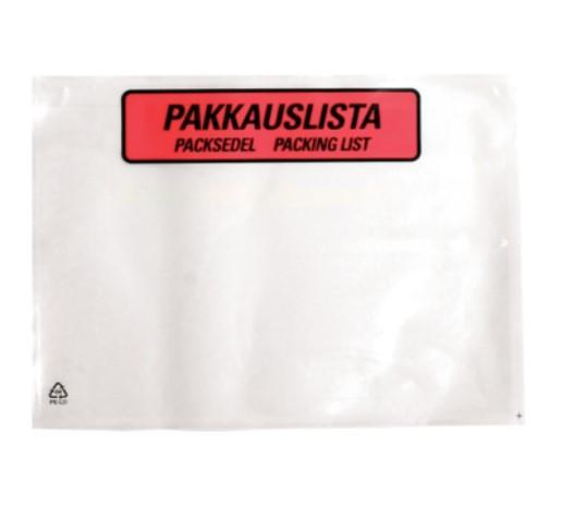 Pakk.listapussi 162×120 NR6 painett 1000 KPL