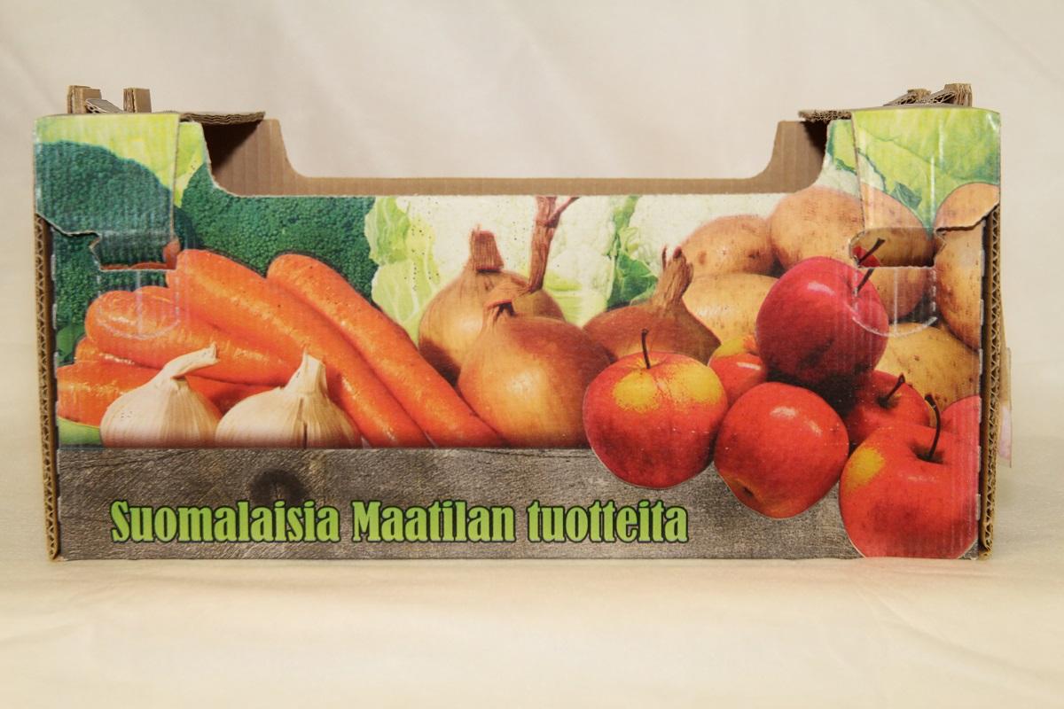 Omena- vihanneslaatikko 5 kg  AntiWet 380x240x180