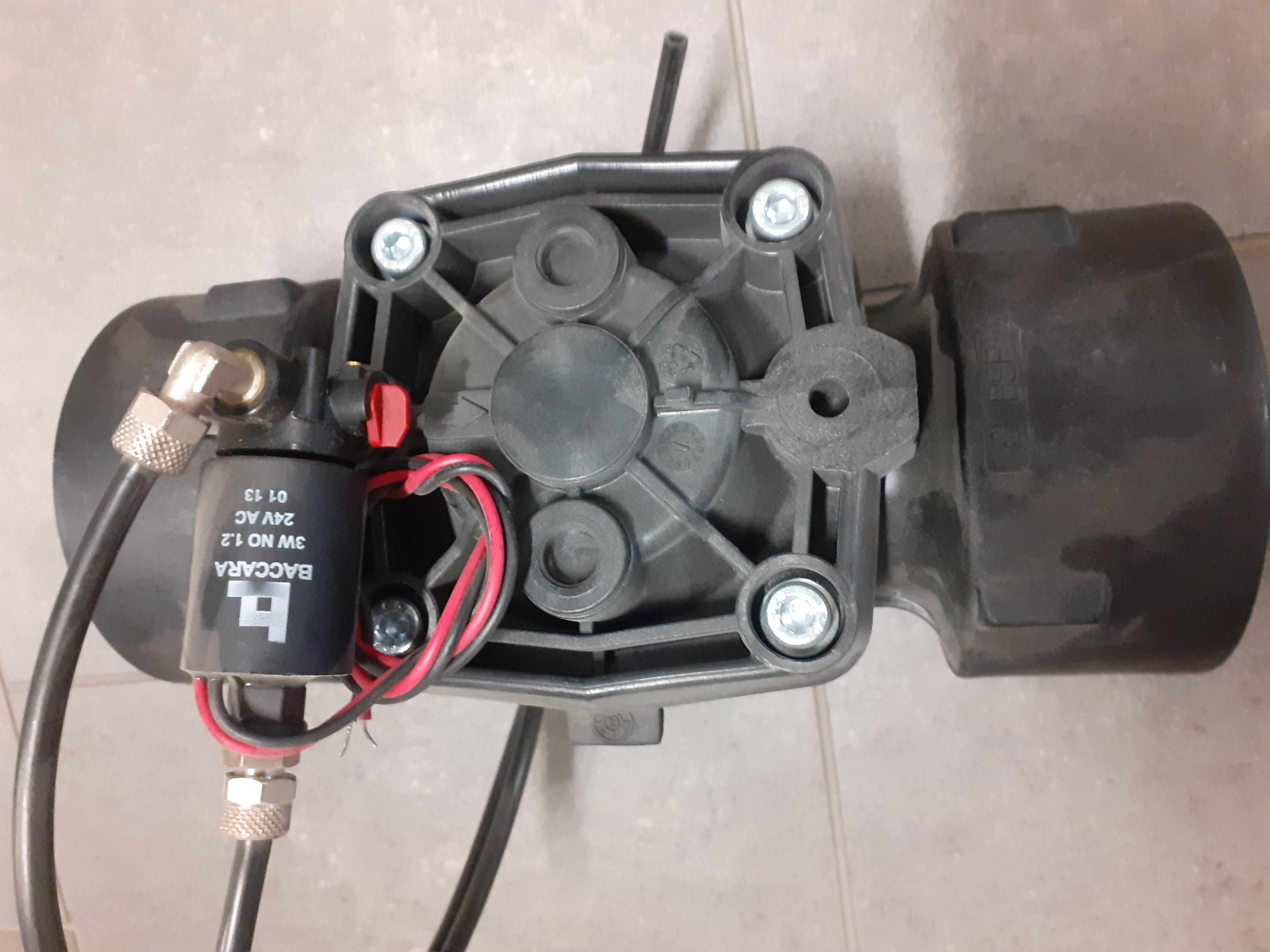 """Paineenalennusventtiili  3"""" 24VAC Sähköinen"""