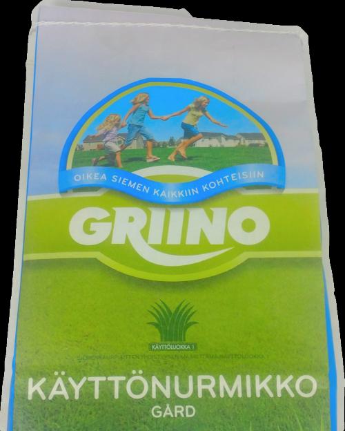 Griino Käyttönurmikko 3 kg säkki