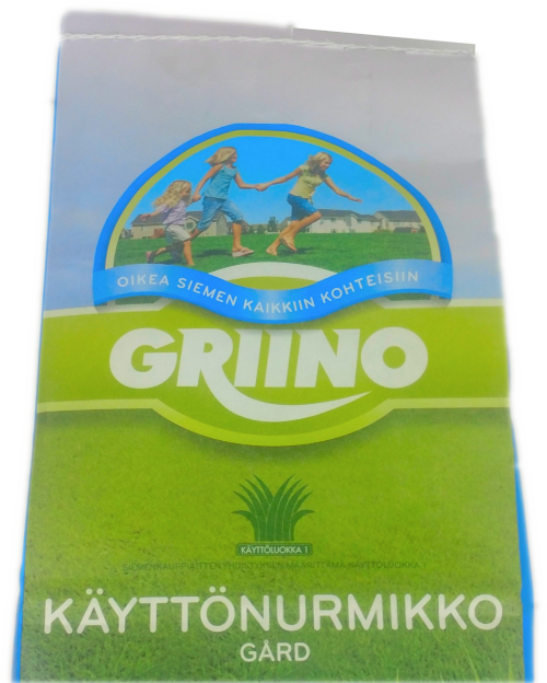Griino Käyttönurmikko 10 kg säkki