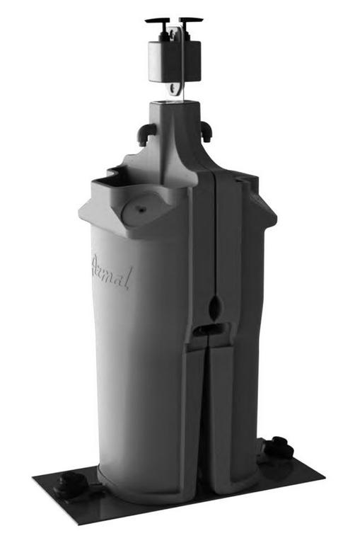 Armal Aquasmart kaksipuolinen käsienpesupiste, 50 litran säiliöillä