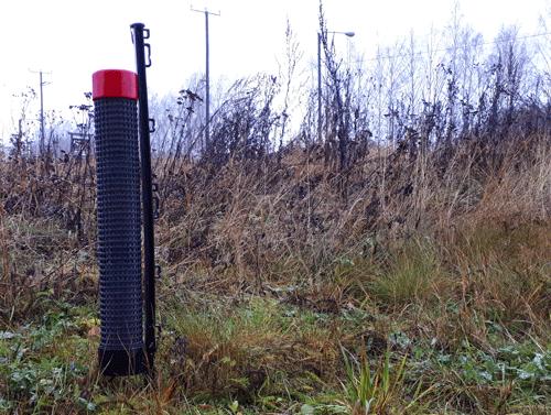 Stunk karkotin Park 0,5 hehtaarille setti (sis. 3 pylvästä, säiliöt ja aloitusnesteet)