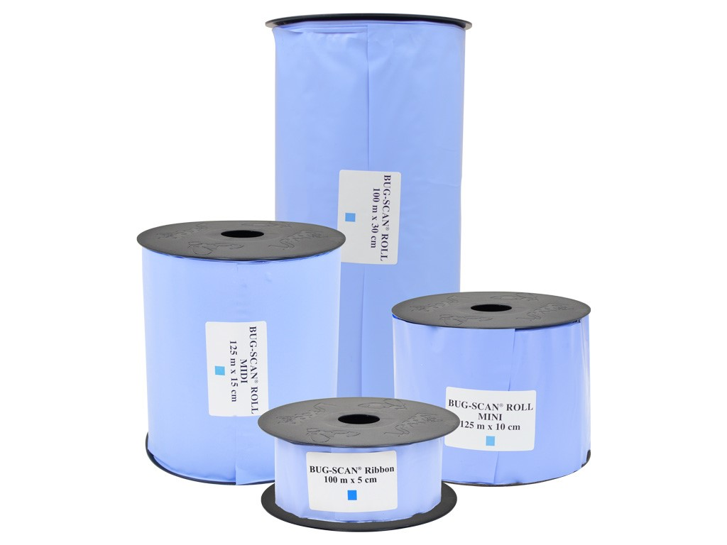 Liima-ansa sininen, rulla 30 cm x 100 m