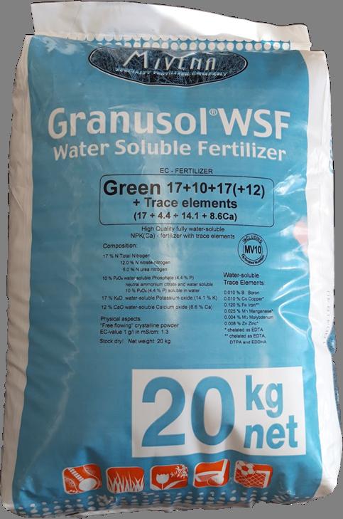 Granusol 10+10+30+3MgO+3CaO+ha BLUE 20kg