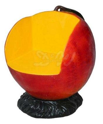 Nojatuoli 85 x 100 cm, omena