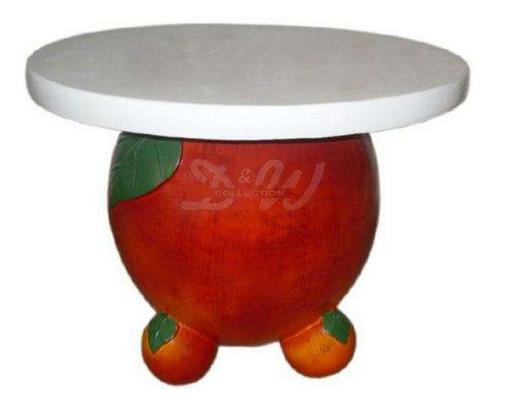 Pöytä 60 x 47 cm, omena