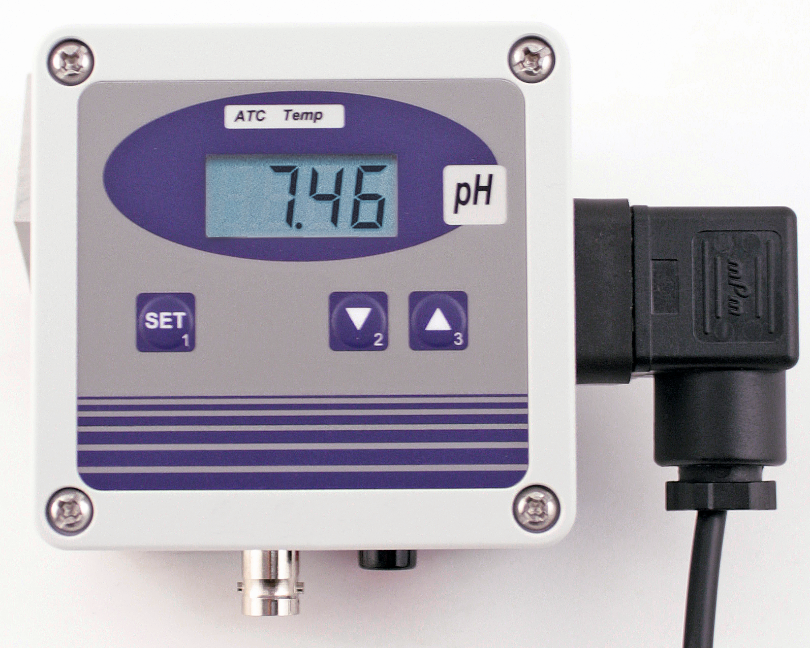 pH-mittari kiinteään asennukseen