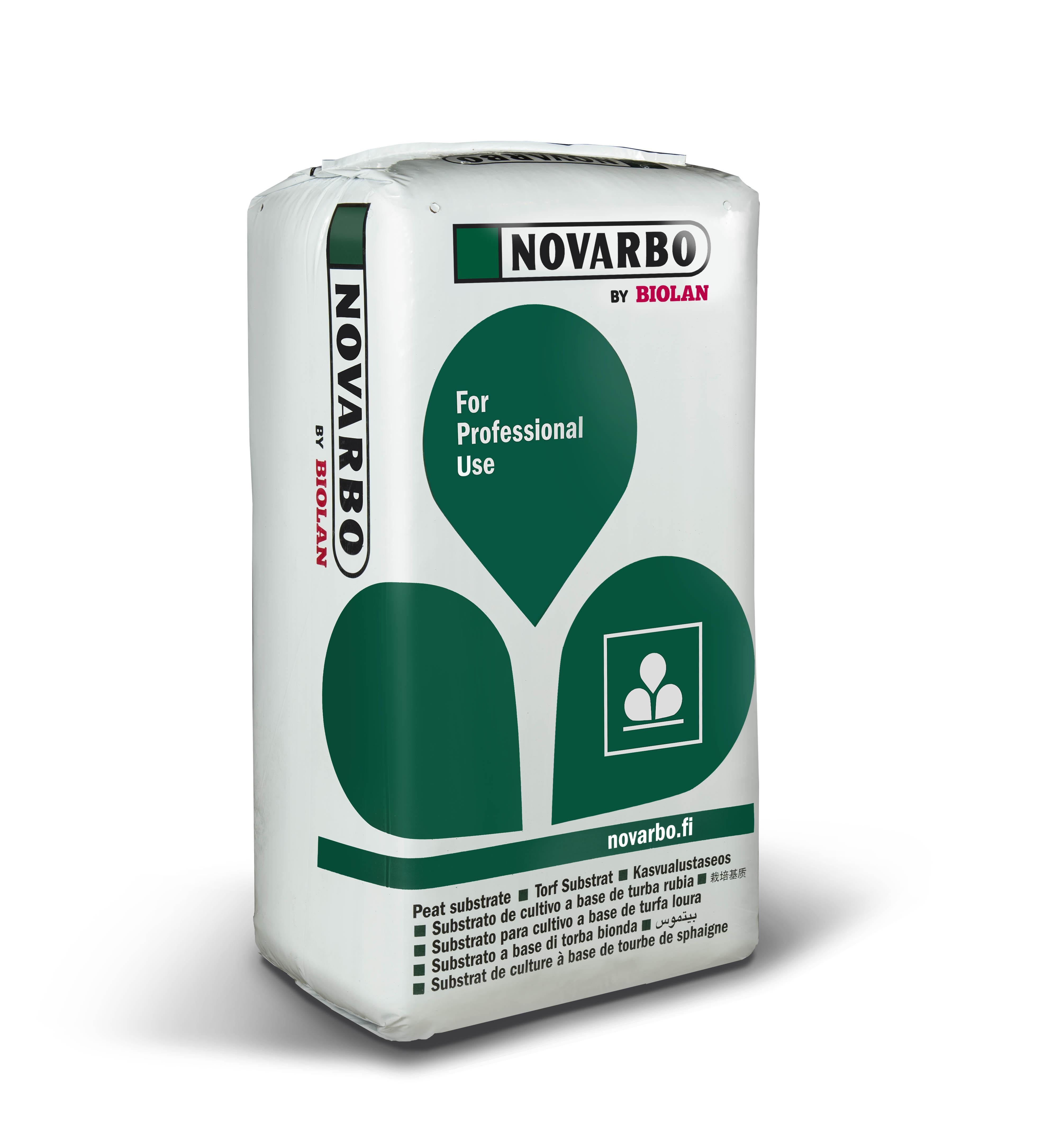 Novarbo BC2 kasvuturve luomu 200l