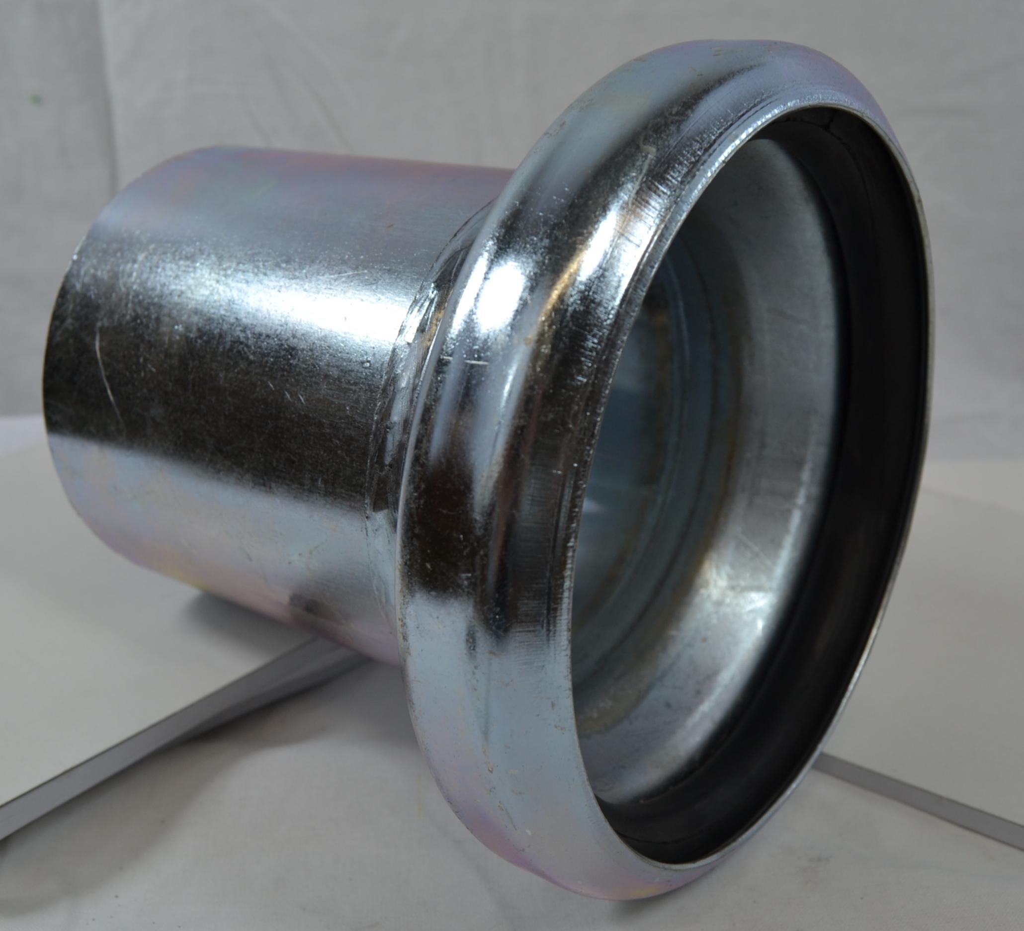 Bauer 108 Naaras liitin 110mm putken päälle työnnettävä